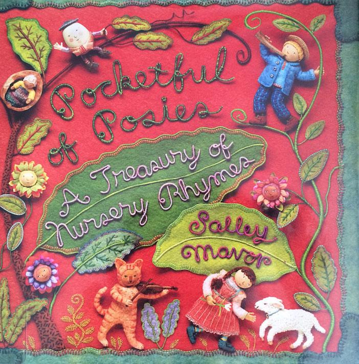 Recent Reads:  Pocketful of Posies:  A Treasury of Nursery Rhymes by Salley Mavor