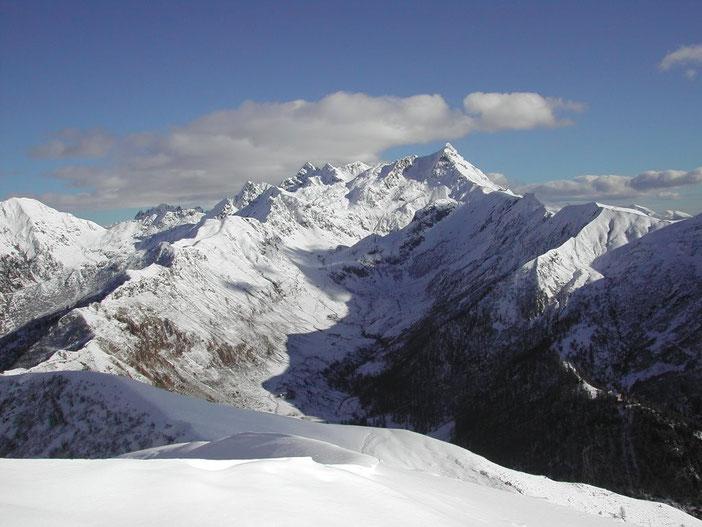 Panorama sulla Val Biandino