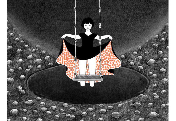 【画家】近藤聡乃「少女時代の記憶」近藤聡乃 / Akino Kondoh