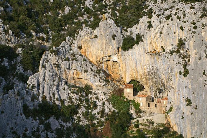 Ermitage St Antoine - Gorges de Galamus