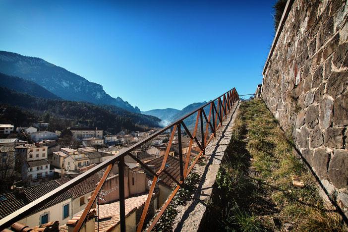 Axat - haut du village - ©Philippe Allevy - Pyrénées Audoises
