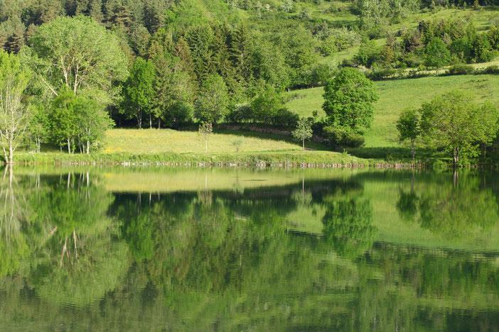 Lac de Belcaire - Pays de Sault - Pyrénées Audoises