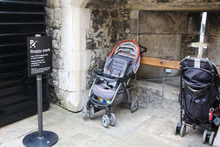 Travel London With a Baby - Tower of London