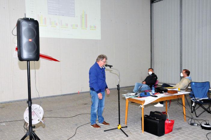 Bericht des Schatzmeisters Detlef Lohse