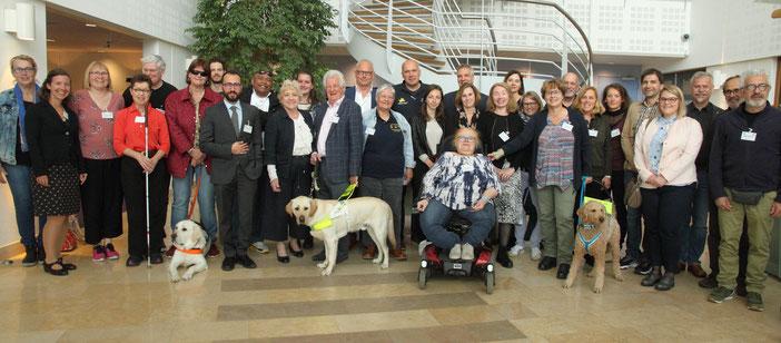 Participants présents à Delft pour le processus de normalisation européenne.