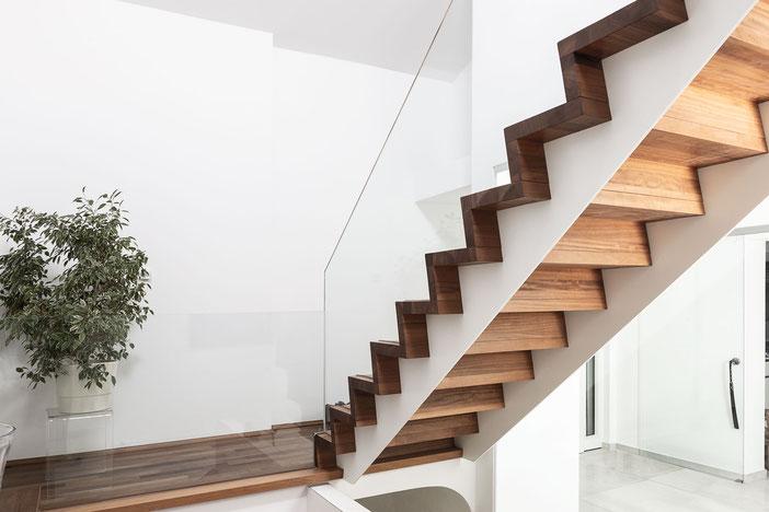 Innenansicht der Treppe