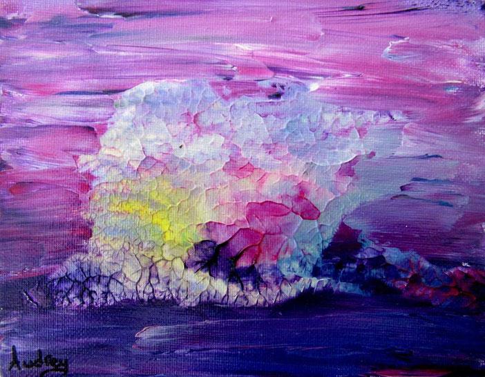 baleine-tableau-abstrait-mini-peinture-abstraite-rose-violet-royan-decoration-minimaliste-bureau-bibliotheque