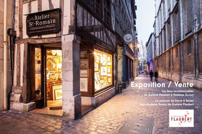 parcours du fiacre, Rouen, tourisme, office de tourisme, visite rouen, atelier saint romain, expo, flaubert21, gustave flaubert, madame bovary