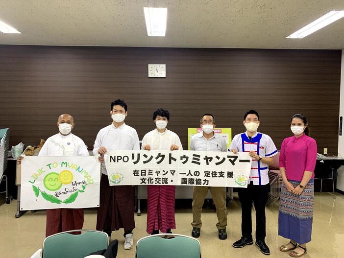 左から、TUN、金子、押田、長谷川、坂田、小山