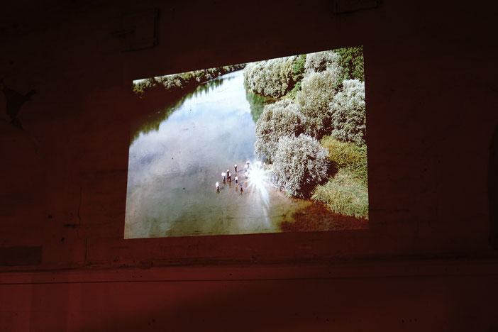 Rheingold, 2017-18, digitale Fotografien, gezeigt jeweils fünf Sekunden im Loop.