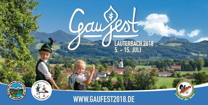 "Trachtenverein GTEV ""D'Lindntaler"" Lauterbach - Gaufest 2018"