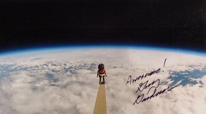 Autograph Guy Gardner Autogramm