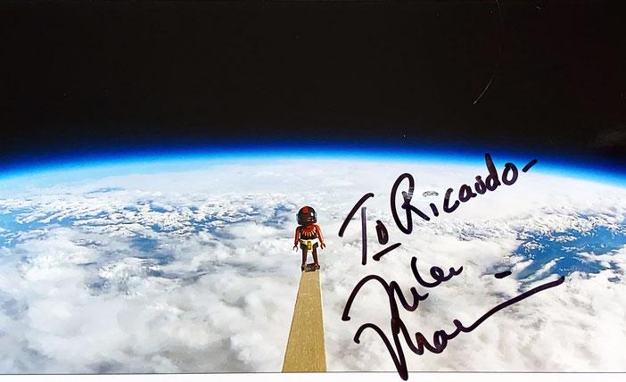 Autograph Mike Massimino Autogramm