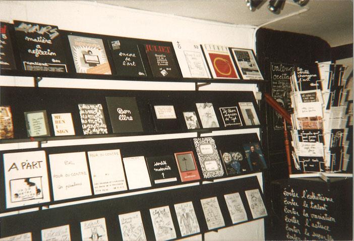 Ben (Vautier), exhibition view, Archive Space, Antwerp, 1989