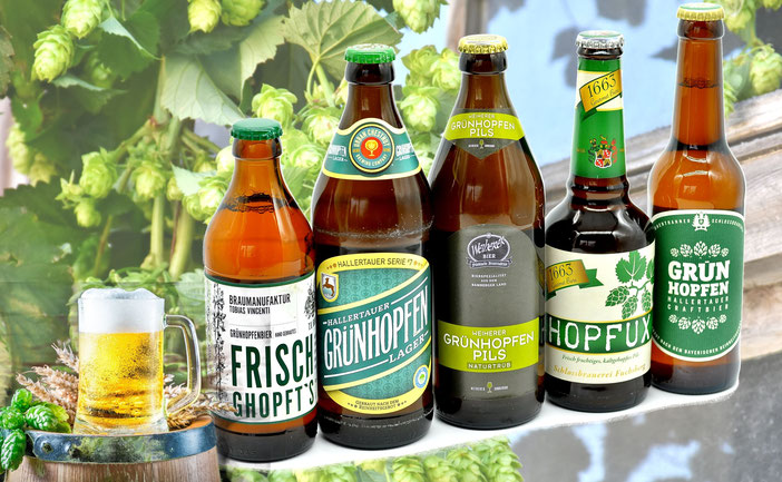 Grünhopfen Haußmann Feldkirchen Getränkemarkt