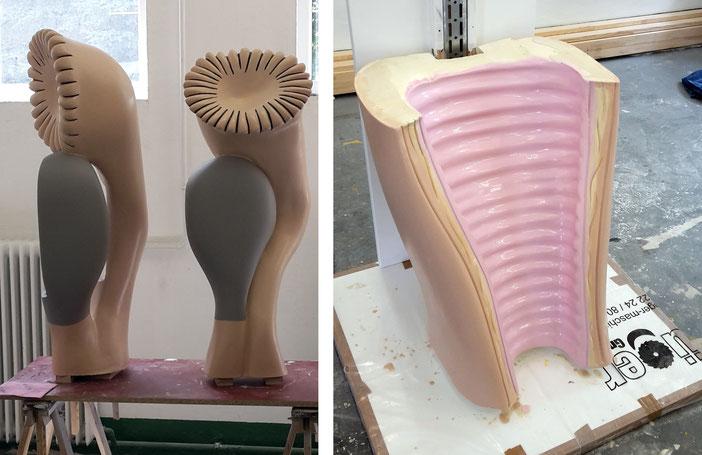 Uterus Modell (Design: Raßbach | Boje als bombianders )