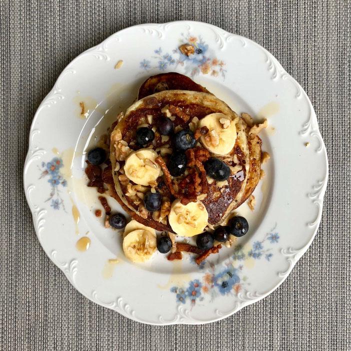 Glutenfreie fluffige Pancakes american style – by kamikatzedesign