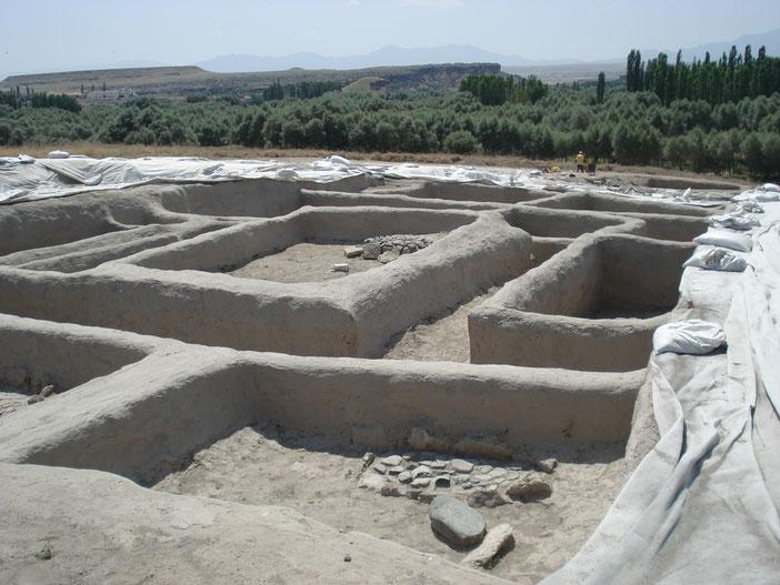 Sito neolitico di Aşıklı Höyük, provincia di Aksaray - Cappadocia