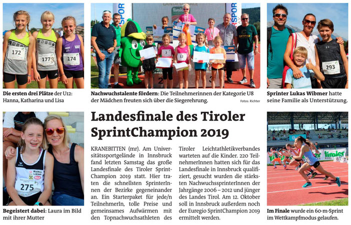 Quelle: Bezirksblatt v. 18./19. September 2019