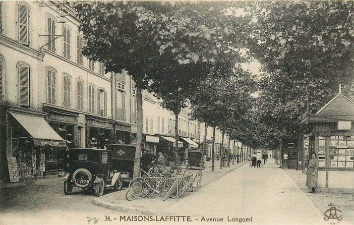 avenue de Longueil à Maisons-Laffitte