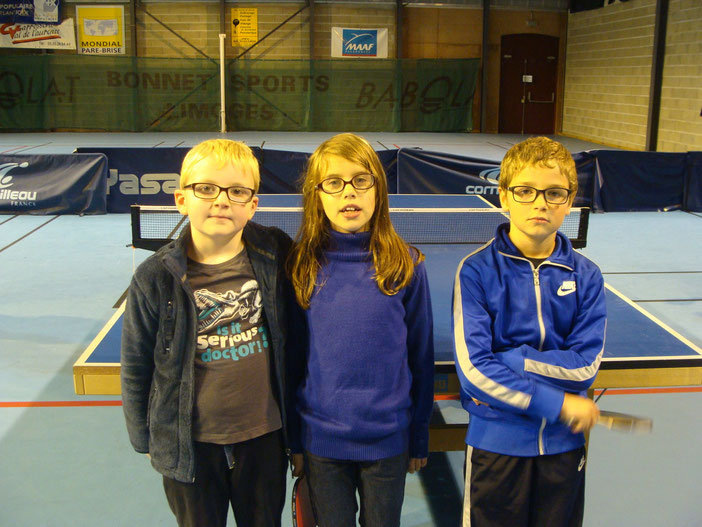 Antoine, Elsa et Ethan