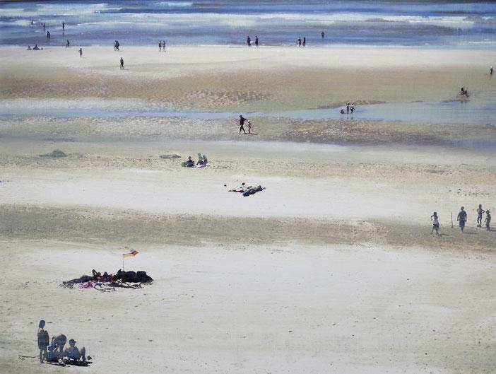 Huile photographique 30 x 40 - 40 x 50 encadrée - Cette huile n'est plus disponible (2017)