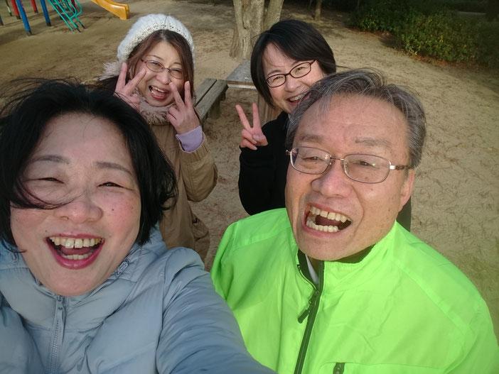 2019年1月26日鈴の森公園笑いヨガ(ラフターヨガ)