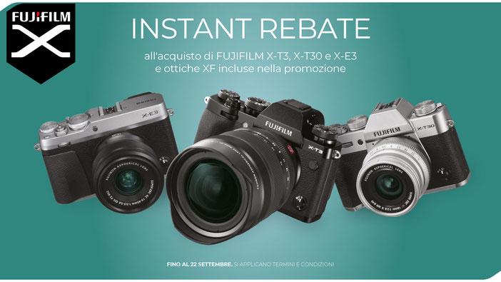 Nuovo cashback Fujifilm fino al 22 settembre