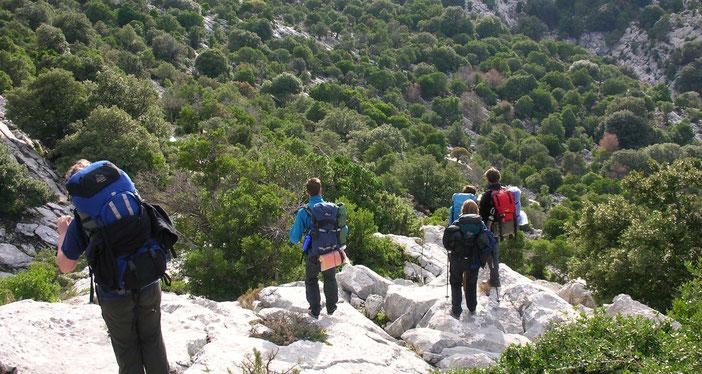 Bild: Wanderung Expedition Backpacking