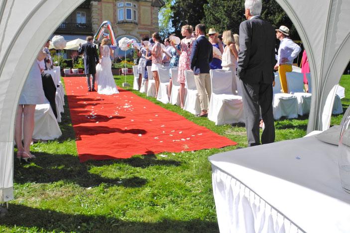 Villa Rothschild freier Trauredner Königstein Villa Rothschild Trauung mit THOMAS HOFFMANN
