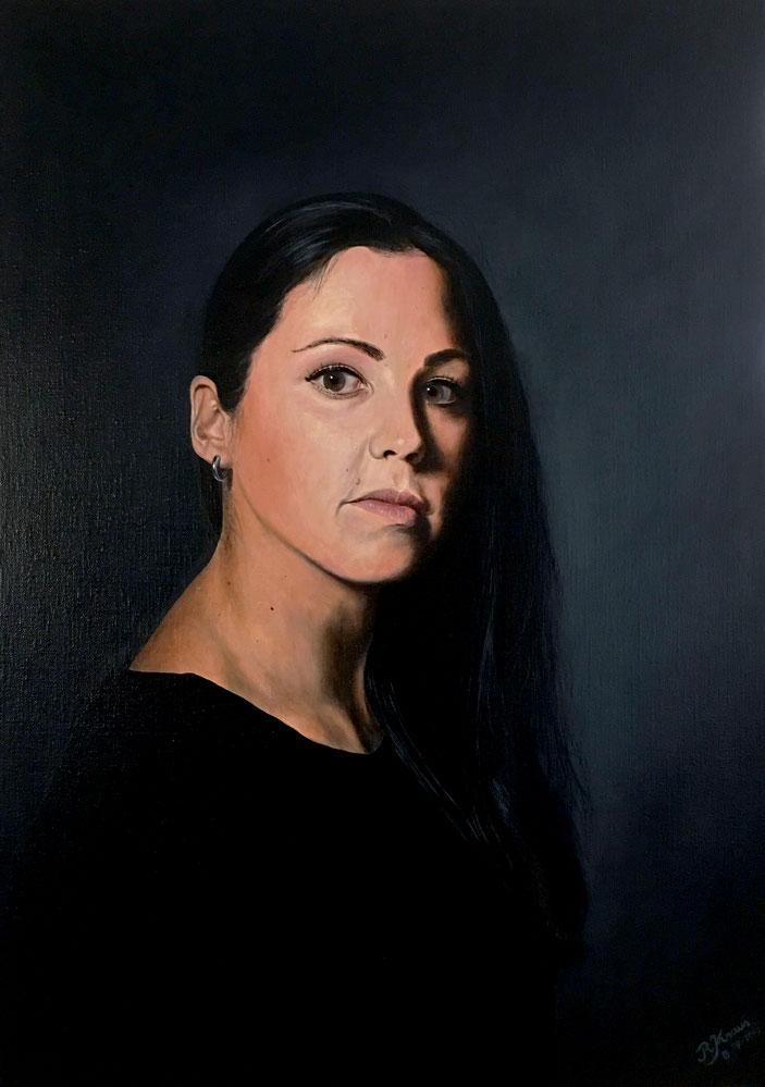 Alexandra 08-2017 - 50 x 70 cm (olieverf op linnen)