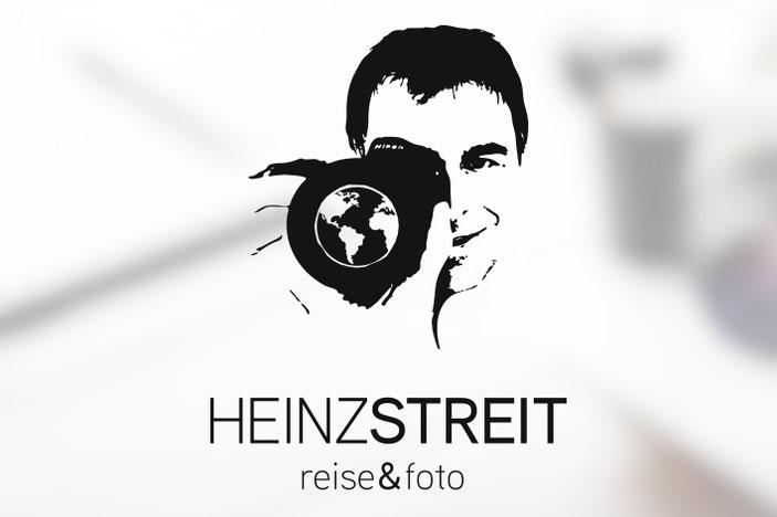 logodesign von dickesdesign für heinz streit reise&foto