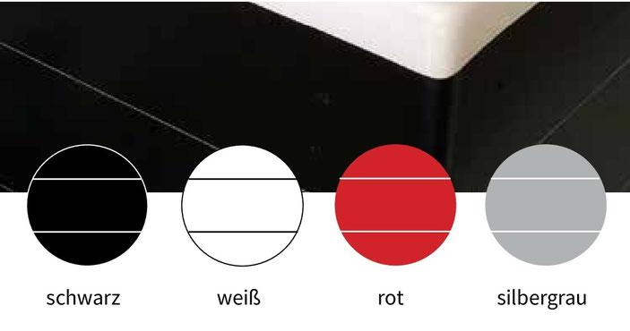 Farbauswahl für die Verkleidung