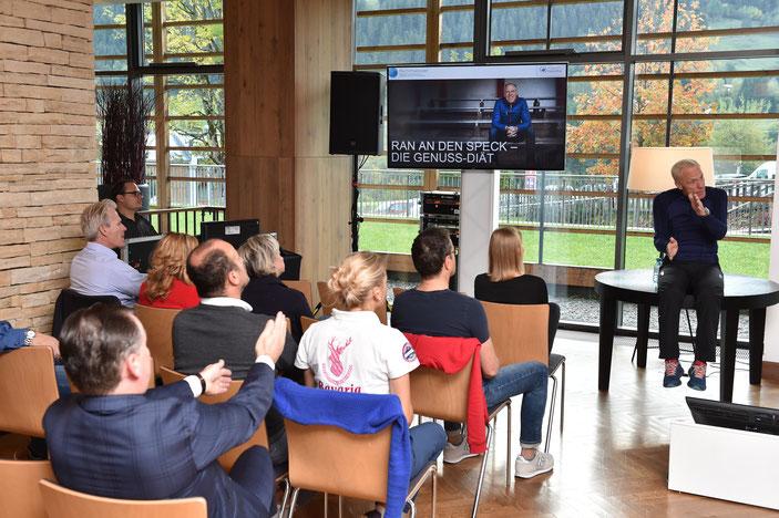 Vortrag mit Ingo Froböse in Kitzbühel