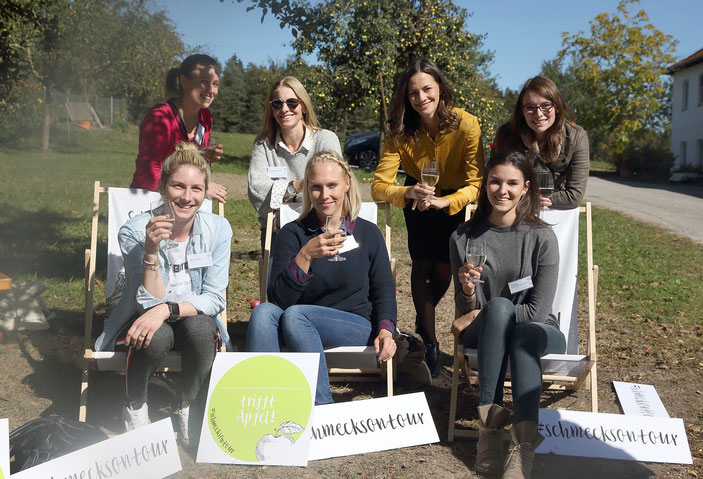 Schmeck´s on Tour: Blog trifft Apfel. Foodblogger