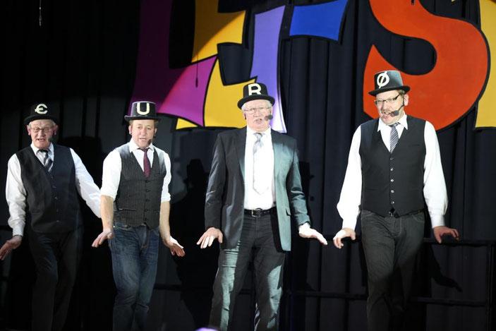 """""""Quartett fatal"""" - Albert Petutschnig, Sepp u. Walter Unterpirker, Armin Ortner"""