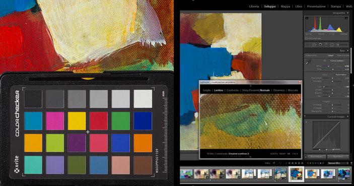 Color Cechcker  e software di calibrazione delle immagini digitali