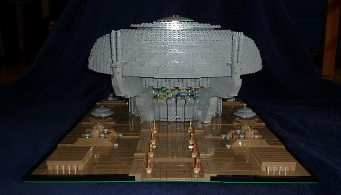 Lego Star Wars Senat von Coruscant in Architecture Styl