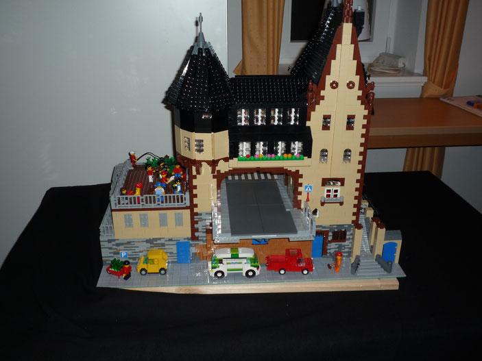 Lego Traben Trarbach Brückentor Minifiguren Maßstab