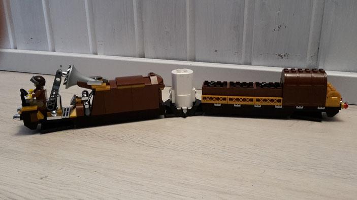 Lego Steampunk Monorail Zug MoRaSt