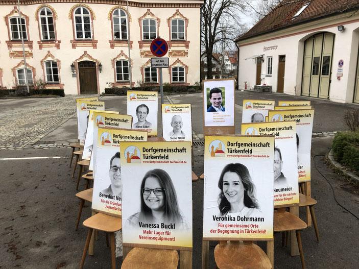 16 Gemeinderatsplätze für die Dorfgemeinschaft mit Bürgermeisterkandidat Emanuel Staffler