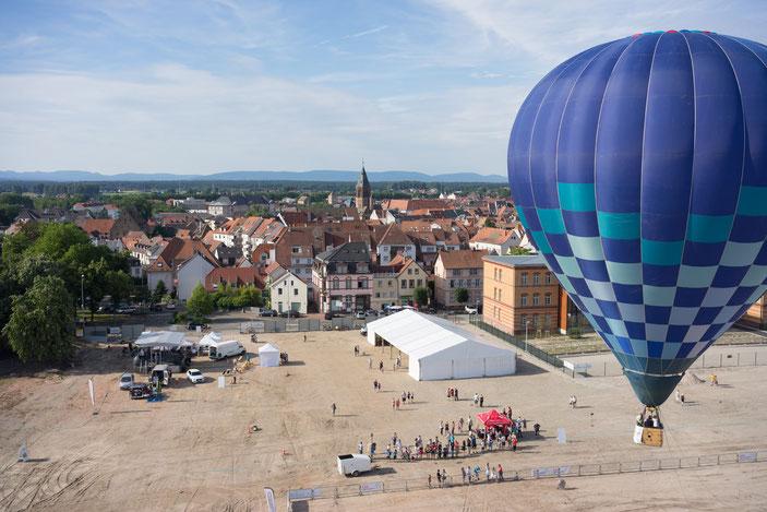 photographie aérienne faite avec un drone en Alsace