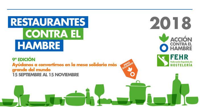 Los restaurantes El Marino de Dénia vuelven a colaborar con Acción contra el hambre
