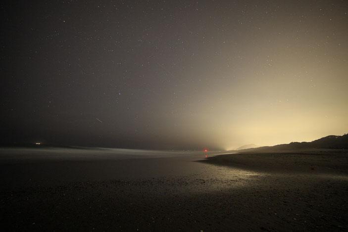 """太平洋ロングビーチ CanonEOS5Dmk2 SAMAYANG14mmF2.8 iso1250 14mm f4 30"""" M photo : toshimasa"""