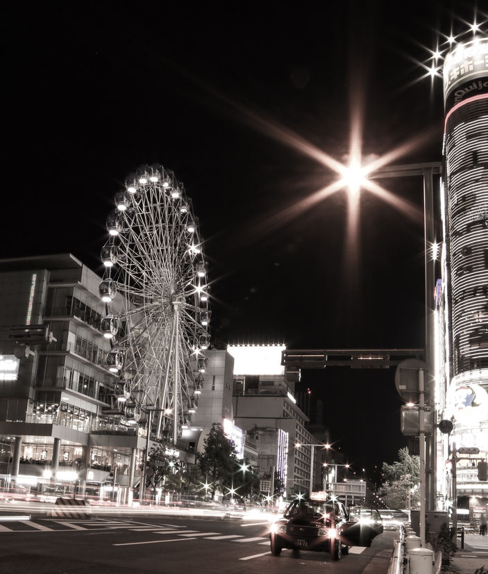 名古屋市栄 CanonEOS8000D SAMYANG14mmF2.8 photo : toshimasa