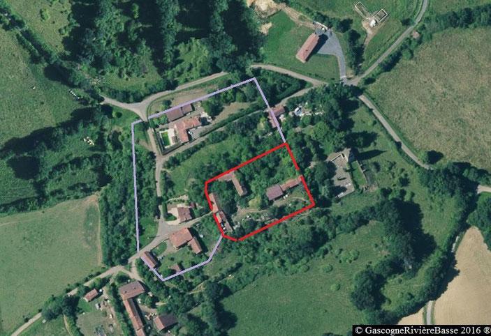 Cité médiévale place forte ladevèze-ville en rivière-Basse Château fort