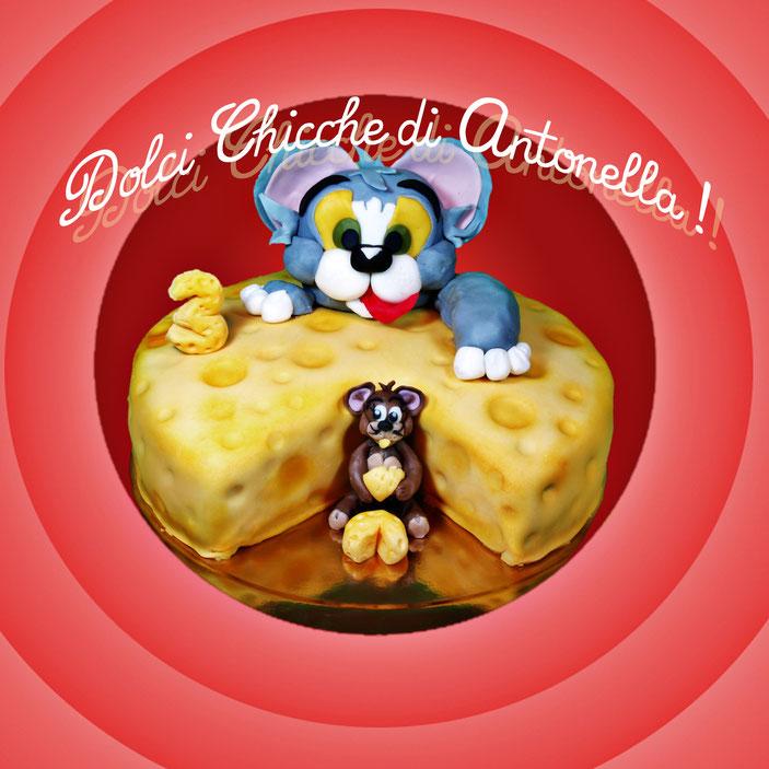 torta tom jerry-dolci-la spezia- liguria-feste-eventi-torte compleanno