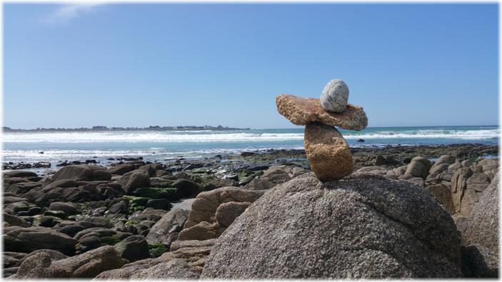 Sandstrände, sauberes Wasser, gute Wasserqualität  in der Bretagne