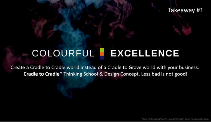 Change Management | social media campaign Colourful Excellence