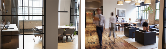 Beispiel Business Styling, Büro und Konferenzzimmer
